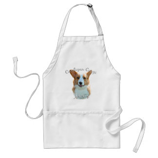 Cardigan Welsh Corgi  Mom 2 Standard Apron