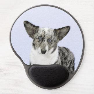 Cardigan Welsh Corgi Painting - Original Dog Art Gel Mouse Pad