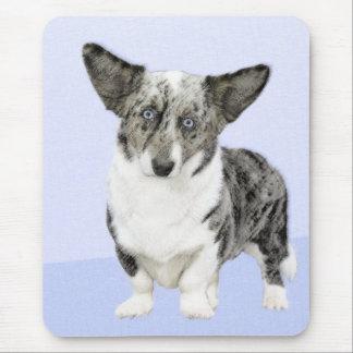 Cardigan Welsh Corgi Painting - Original Dog Art Mouse Pad