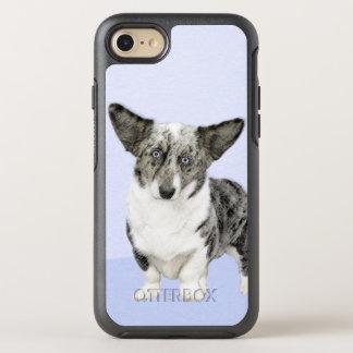 Cardigan Welsh Corgi Painting - Original Dog Art OtterBox Symmetry iPhone 8/7 Case