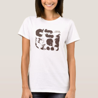 cardigan welsh corgi various sleeping phase T-Shirt