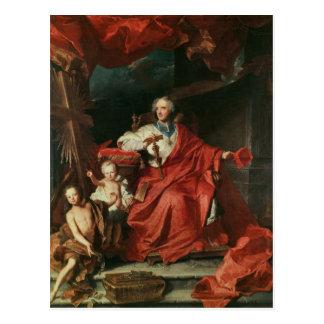 Cardinal de Bouillon  Opening Postcard