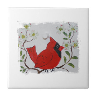 Cardinal & Dogwood Tile