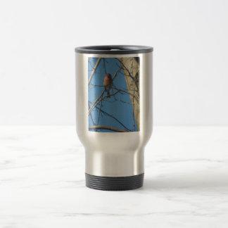 Cardinal Female/Bird Travel Mug