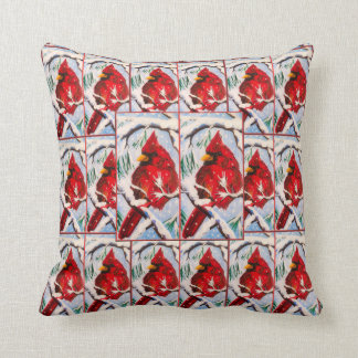Cardinal Fun Pillow