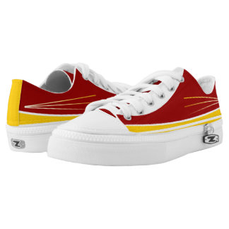Cardinal Gold and White Tres Lo-Top