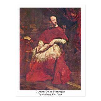 Cardinal Guido Bentivoglio By Anthony Van Dyck Postcard