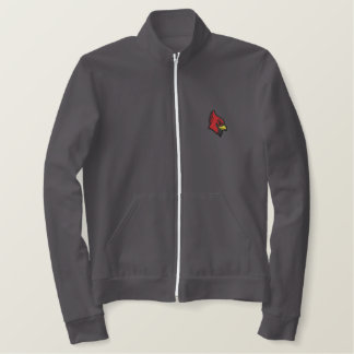 Cardinal Head Embroidered Jacket
