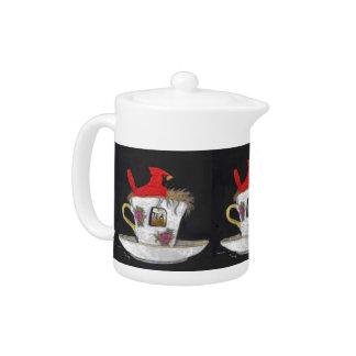 Cardinal in a Teacup