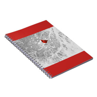 Cardinal in Winter Notebook