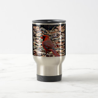 Cardinal (Male) Travel Mug