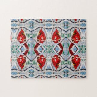 Cardinal Maze Puzzle