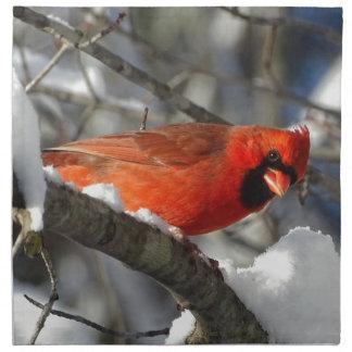 Cardinal Napkin