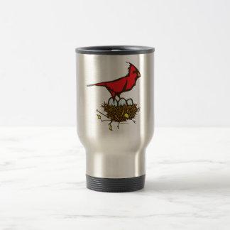 Cardinal Nest Travel Mug