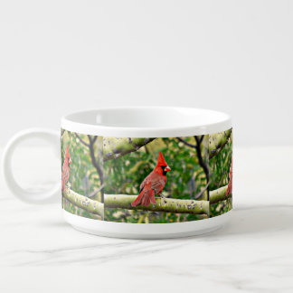 Cardinal on a Limb Chili Bowl