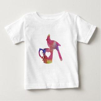 Cardinal on a mug baby T-Shirt