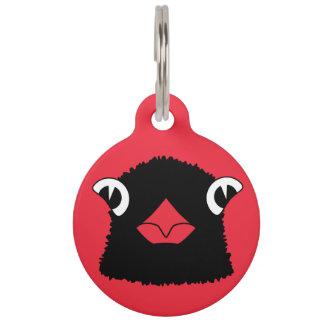 Cardinal pet ID tag