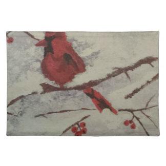 cardinal placemat