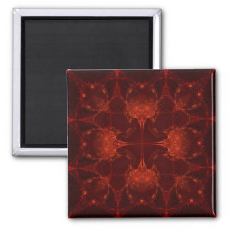 Cardinal Red  7 Magnet
