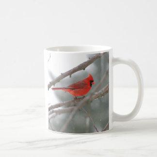 Cardinal Red Bird Mug