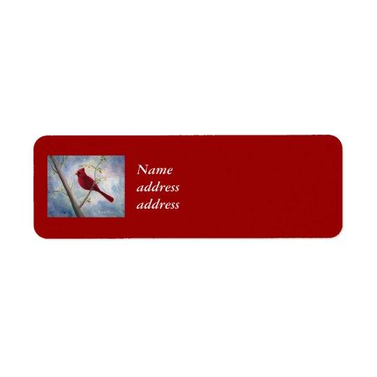 Cardinal Return Address Labels
