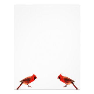 Cardinal(s) Letterhead