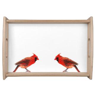Cardinal(s) Serving Tray