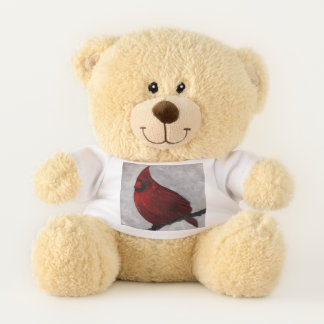 Cardinal Sherman Teddy Bear