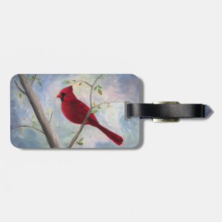 Cardinal Two Sided Luggage Tag