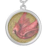 Cardinal vintage collier
