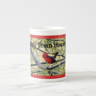 "Cardinal ""Visitor From Heaven"" Coffee/Tea Cup/Mug Tea Cup"