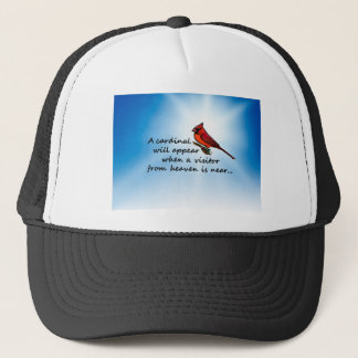 Cardinal, Visitor from Heaven Trucker Hat