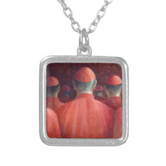 Cardinals 2005 silver plated necklace