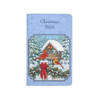 Cardinals Christmas Feast Blue Journal