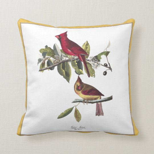 Cardinals Grosbeak Pillow
