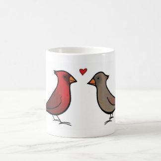 Cardinals in Love Mug
