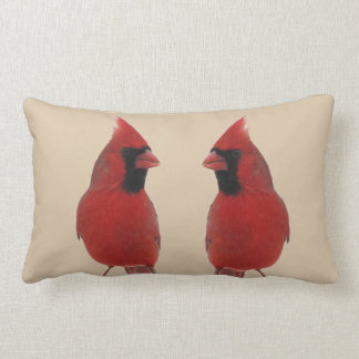 Cardinals Lumbar Pillow