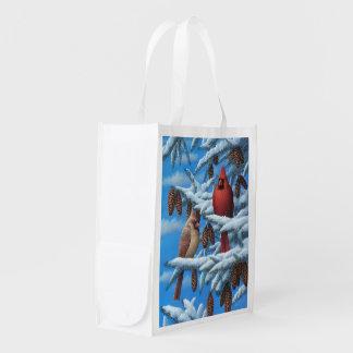 Cardinals Reusable Grocery Bag