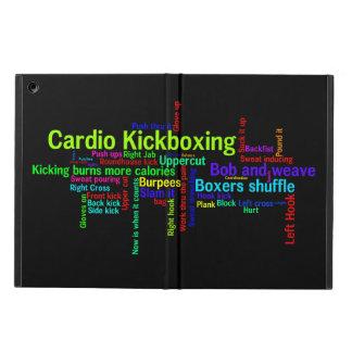 Cardio Kickboxing Word Cloud iPad Air Cover