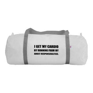 Cardio Running From Responsibilities