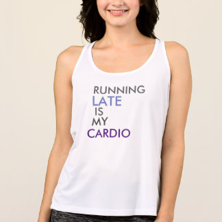 Cardio (Women's work-out tank) Tank Top