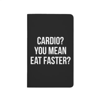 Cardio? You Mean Eat Faster? - Funny Bulking Gym Journal