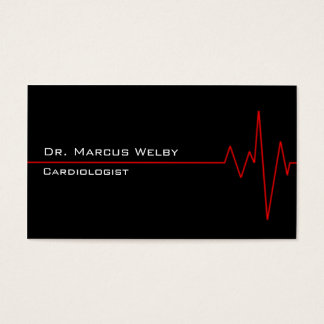 Cardiologist Business Card