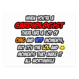 Cardiologist .. OMG WTF LOL Postcard
