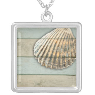 Cardita Shell Silver Plated Necklace