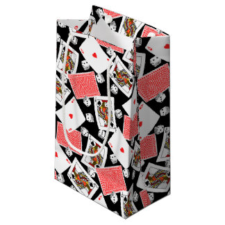 Cards & dice small gift bag