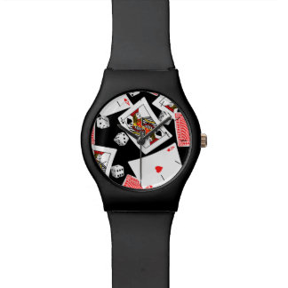 Cards & dice watch
