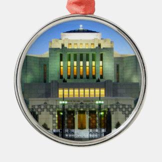 Cardston Alberta Temple Round Ornament