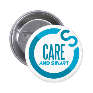 care and smart 2 inch round button