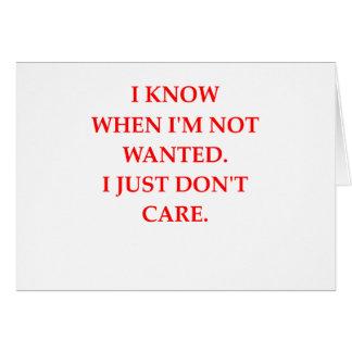CARE CARD